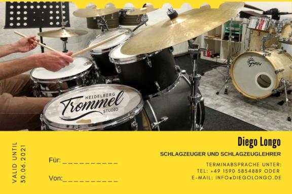 Copia de Gutschein_Schlagzeugunterricht_Heidelberg